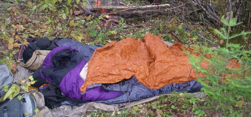Tentless camping